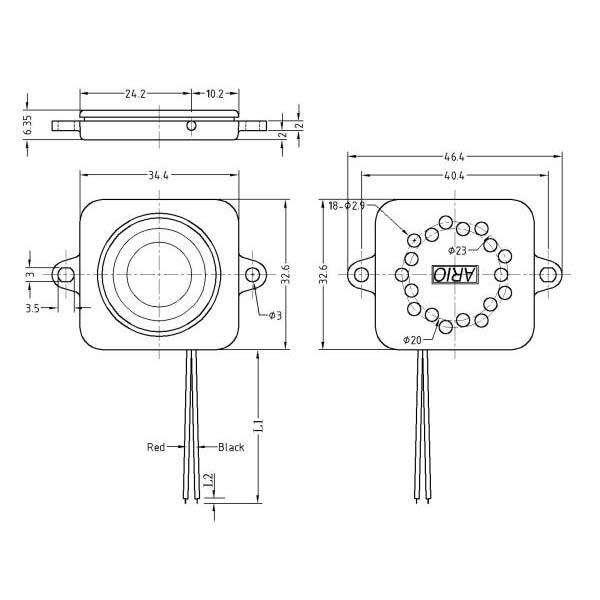 speaker box  lf-k3532b60a